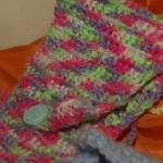 Häkeltaschen im Textilunterricht, 4. Klasse